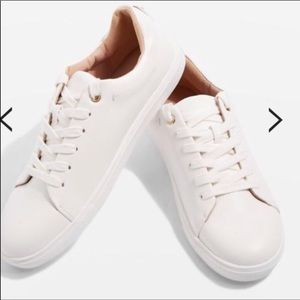 Topshop white sneakers